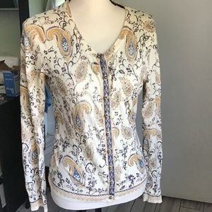 Vintage Style Lucky Brand Women's Sweater